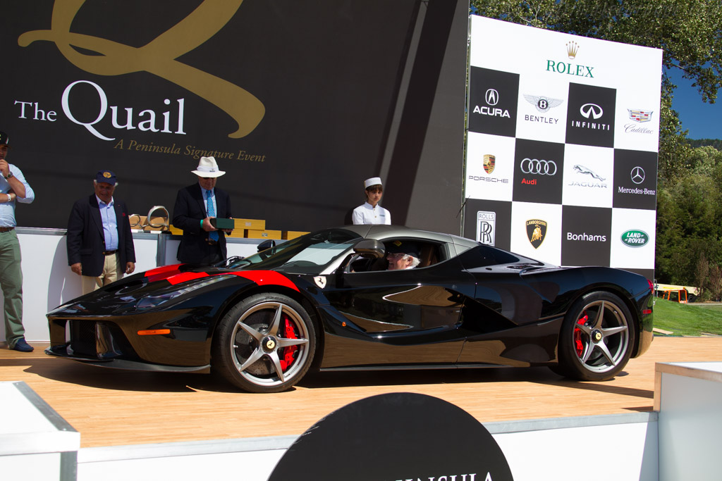 Ferrari LaFerrari - Chassis: 207774 - Entrant: Ken and Dayle Roath - 2015 The Quail, a Motorsports Gathering