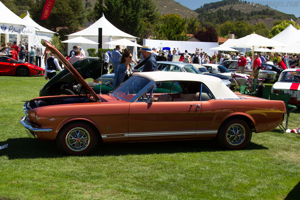 Ford Mustang GT Convertible - Chassis: 6F08A319472 - Entrant: Spencer J. Woolcott  - 2015 The Quail, a Motorsports Gathering