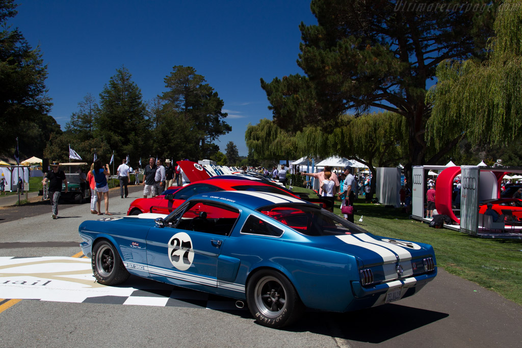 Ford Shelby Mustang GT350    - 2015 The Quail, a Motorsports Gathering