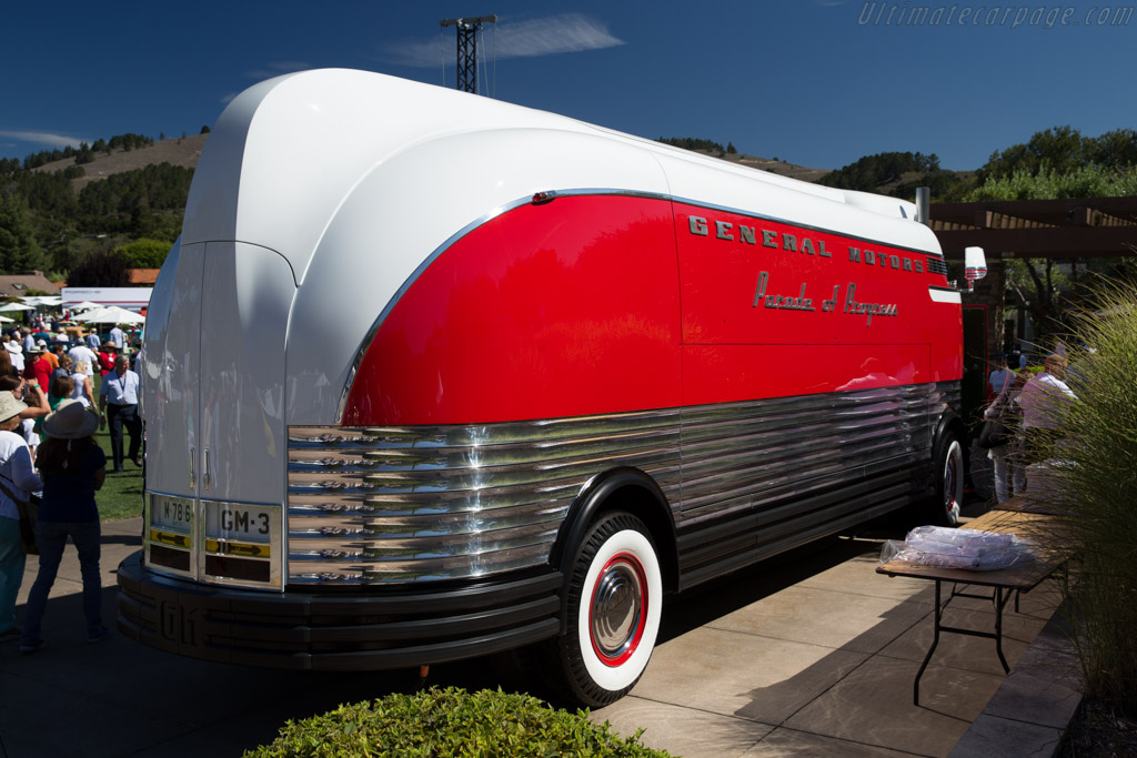 GM Futureliner    - 2015 The Quail, a Motorsports Gathering