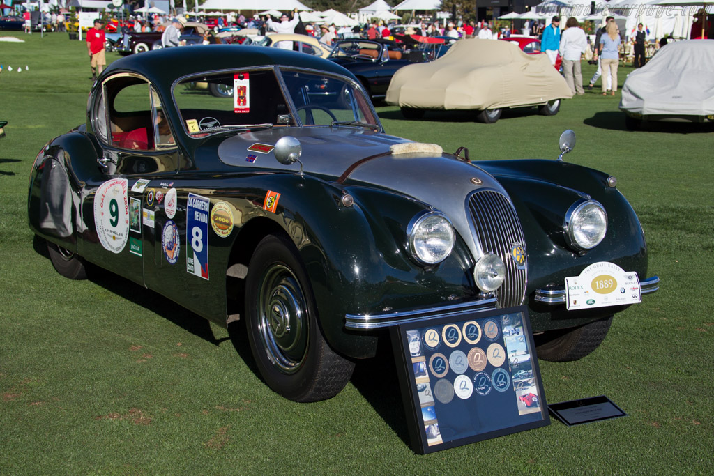 Jaguar XK120 FHC  - Entrant: Dick McClure  - 2015 The Quail, a Motorsports Gathering