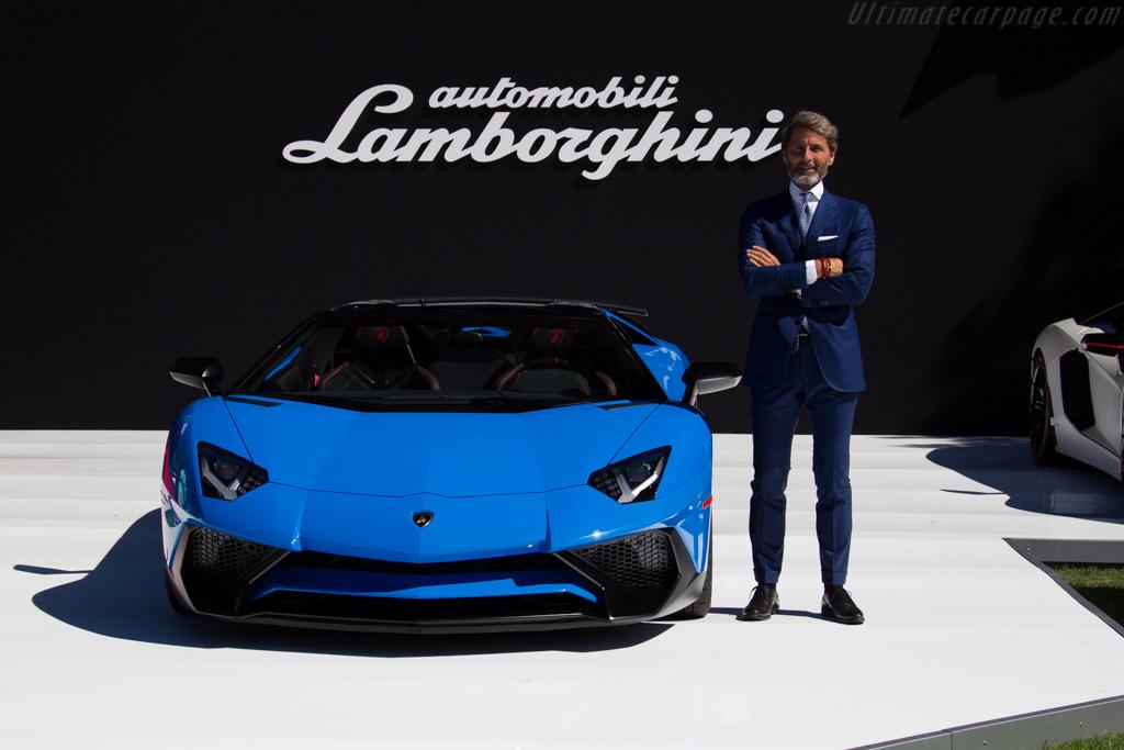 Lamborghini Aventador SV Roadster - Chassis: ZHWUT3ZD2GLA04201   - 2015 The Quail, a Motorsports Gathering