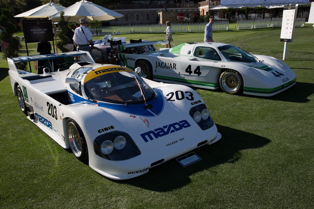 Mazda 757 - Chassis: 104 - Entrant: James R. Loftis III  - 2015 The Quail, a Motorsports Gathering