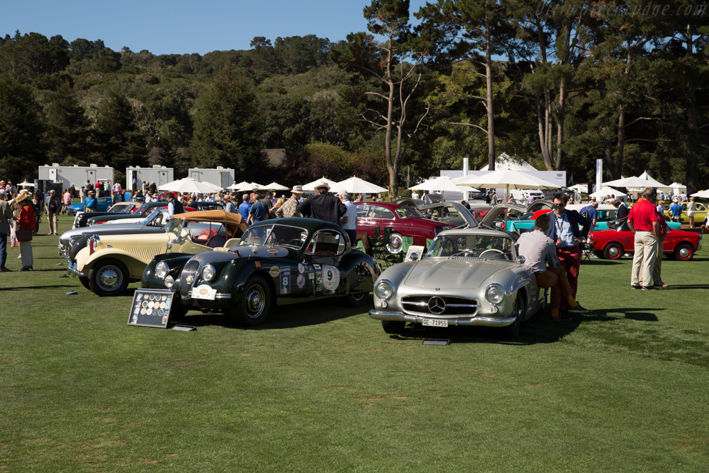 Mercedes-Benz 300 SL Coupe  - Entrant: Simon Kidston  - 2015 The Quail, a Motorsports Gathering