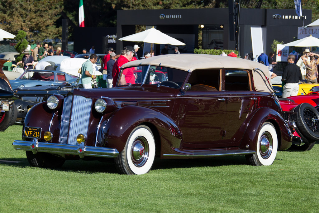 Packard 1608 All-Weather Cabriolet  - Entrant: Joe Anderson & Mary Dewane  - 2015 The Quail, a Motorsports Gathering