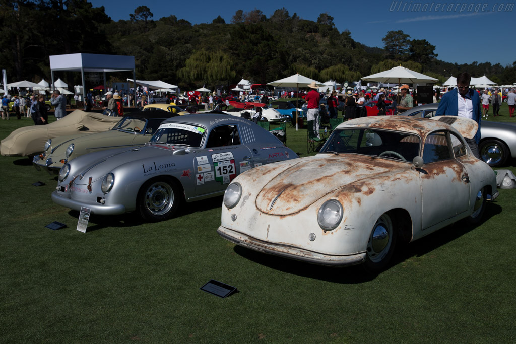 Porsche 356 Coupe - Chassis: 11702 - Entrant: George & Sibet Alspaugh  - 2015 The Quail, a Motorsports Gathering
