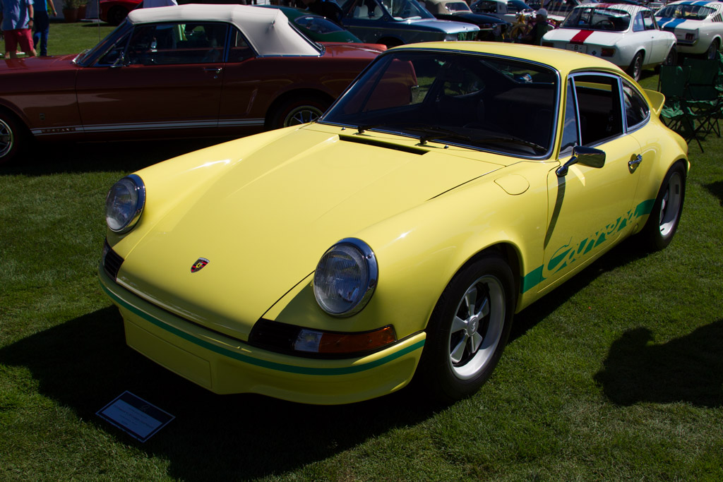 Porsche 911 Carrera RS 2.7 Lightweight  - Entrant: Autosport Designs Inc.  - 2015 The Quail, a Motorsports Gathering