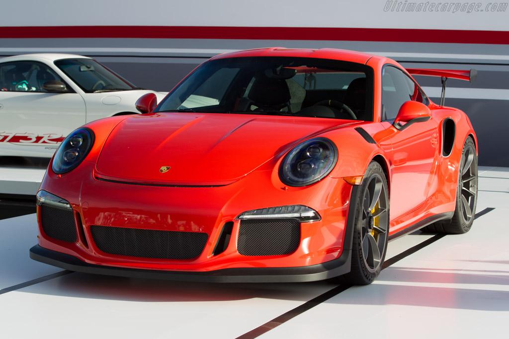 Porsche 911 GT3 RS    - 2015 The Quail, a Motorsports Gathering