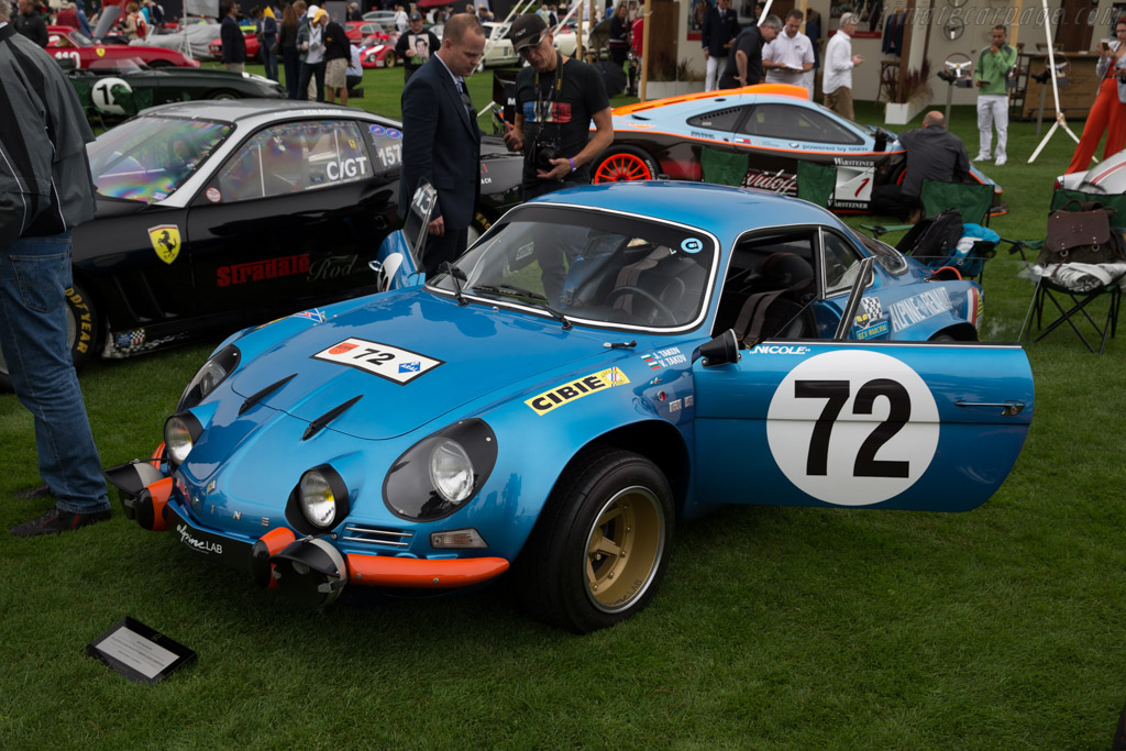 Alpine A110 1800 Group 4 - Chassis: 17623 - Entrant: Joseph Gabany  - 2016 The Quail, a Motorsports Gathering