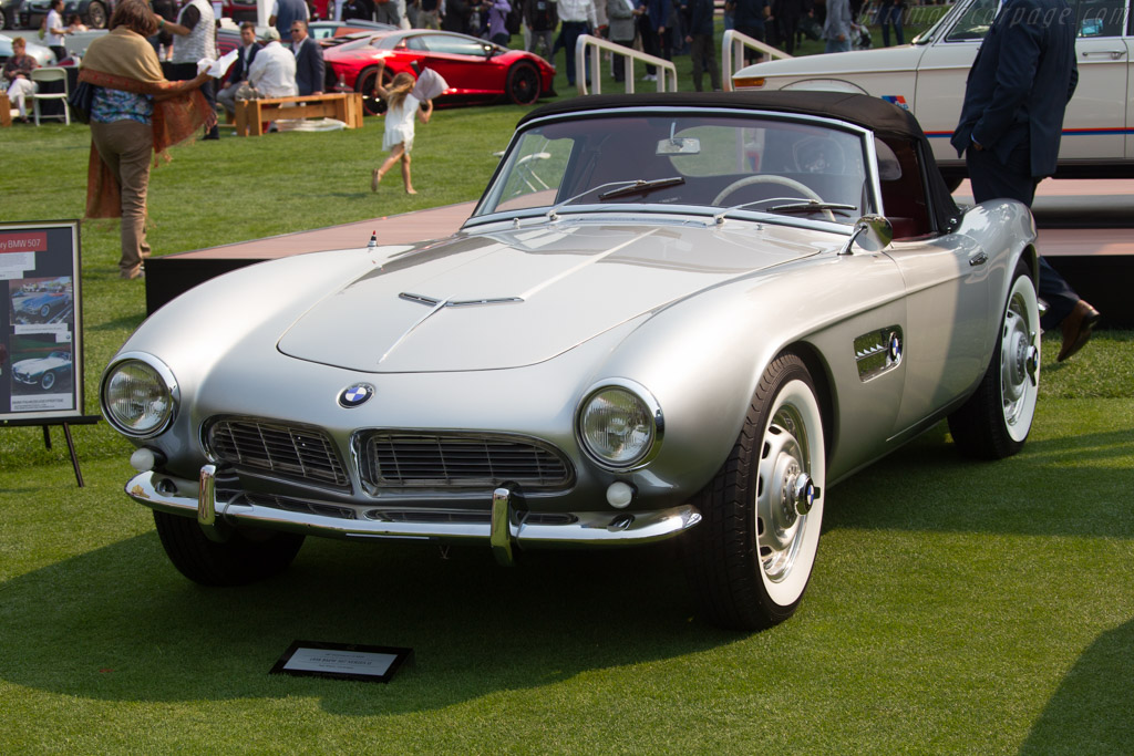 BMW 507 Roadster - Chassis: 70110 - Entrant: Phil White  - 2016 The Quail, a Motorsports Gathering