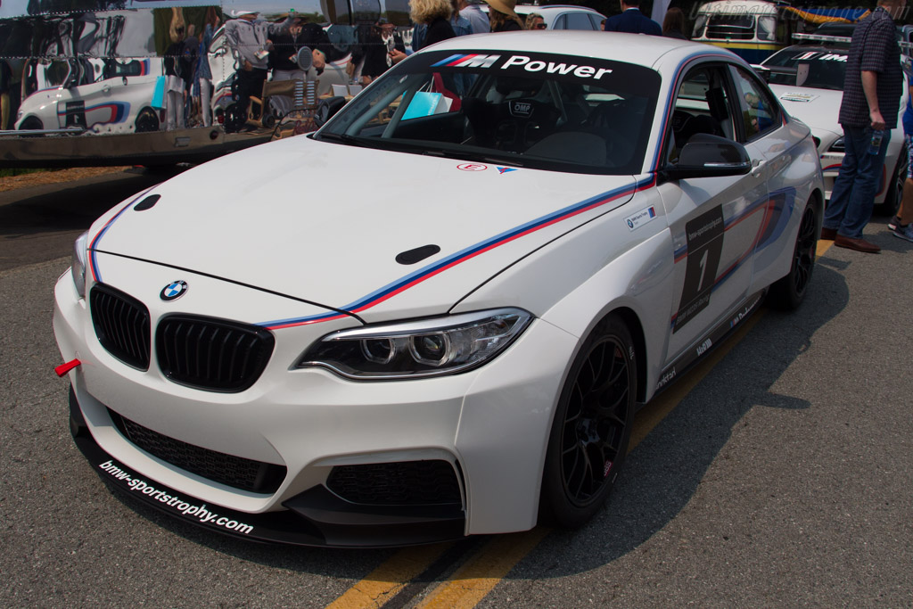 BMW M235i Racing  - Entrant: BMW North America  - 2016 The Quail, a Motorsports Gathering