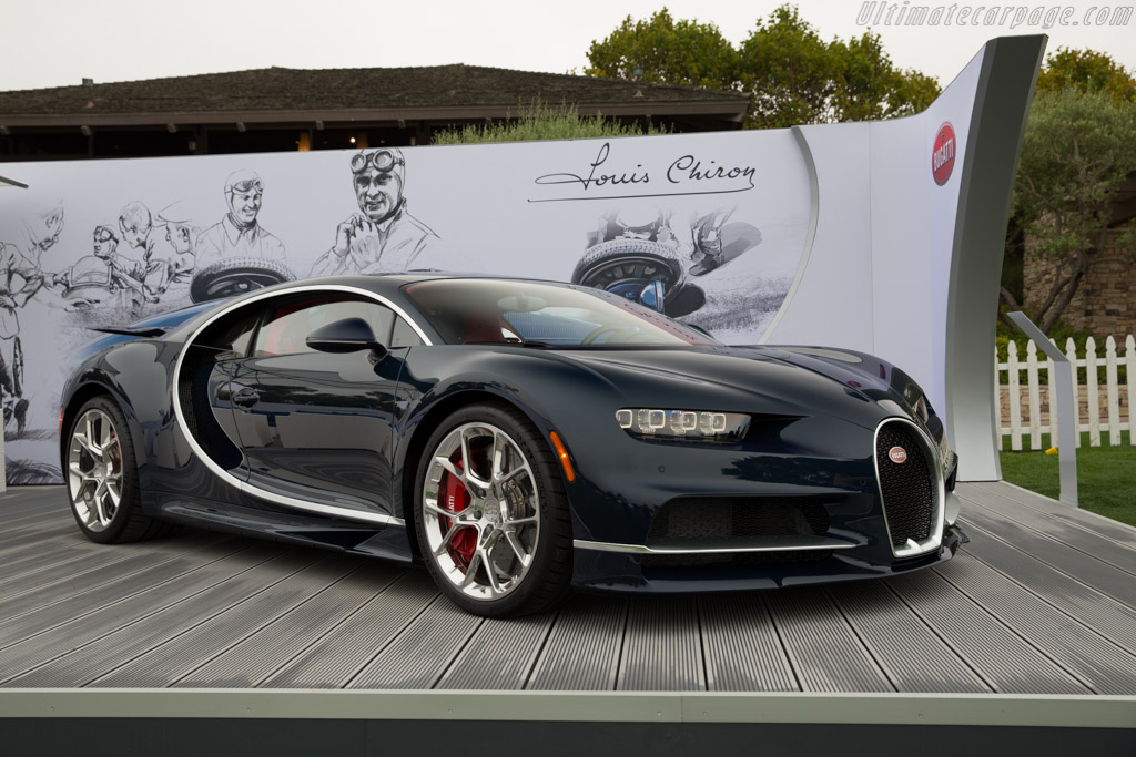 Bugatti Chiron - Chassis: VF9NP3V35HM795018   - 2016 The Quail, a Motorsports Gathering