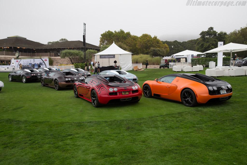 Bugatti Veyrons    - 2016 The Quail, a Motorsports Gathering