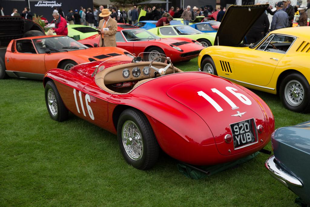 Ferrari 166 MM Barchetta - Chassis: 0058M - Entrant: John & Gwen McCaw  - 2016 The Quail, a Motorsports Gathering