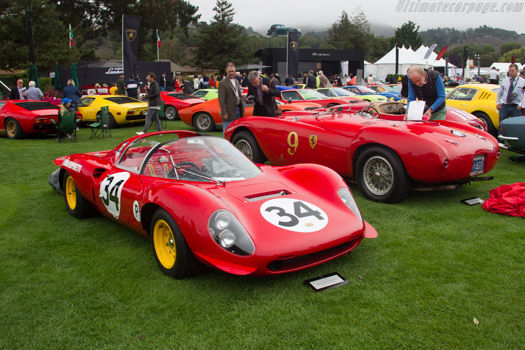Ferrari 206 S Dino - Chassis: 026 - Entrant: The Moghadam Collection  - 2016 The Quail, a Motorsports Gathering
