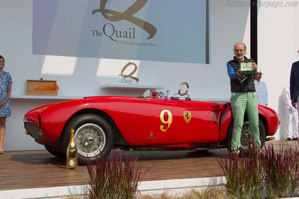 Ferrari 375 MM - Chassis: 0382AM - Entrant: Andreas Mohringer  - 2016 The Quail, a Motorsports Gathering