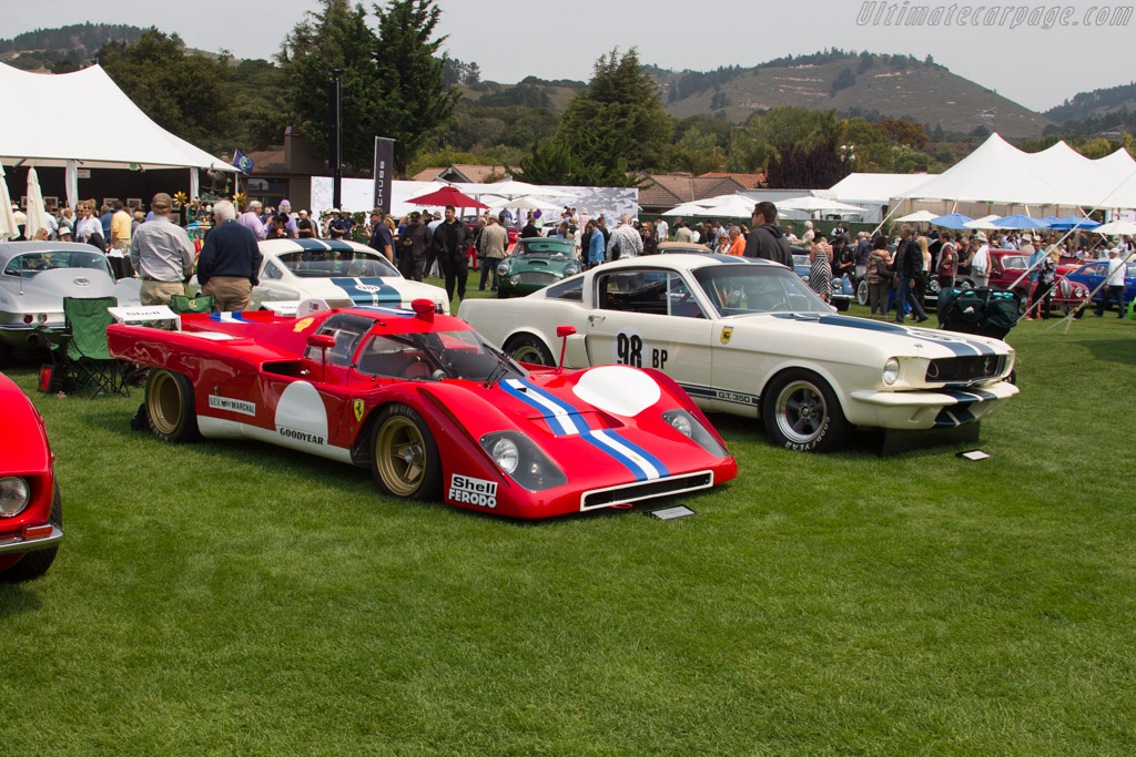 Ferrari 512 M - Chassis: 1024 - Entrant: Steven Read  - 2016 The Quail, a Motorsports Gathering