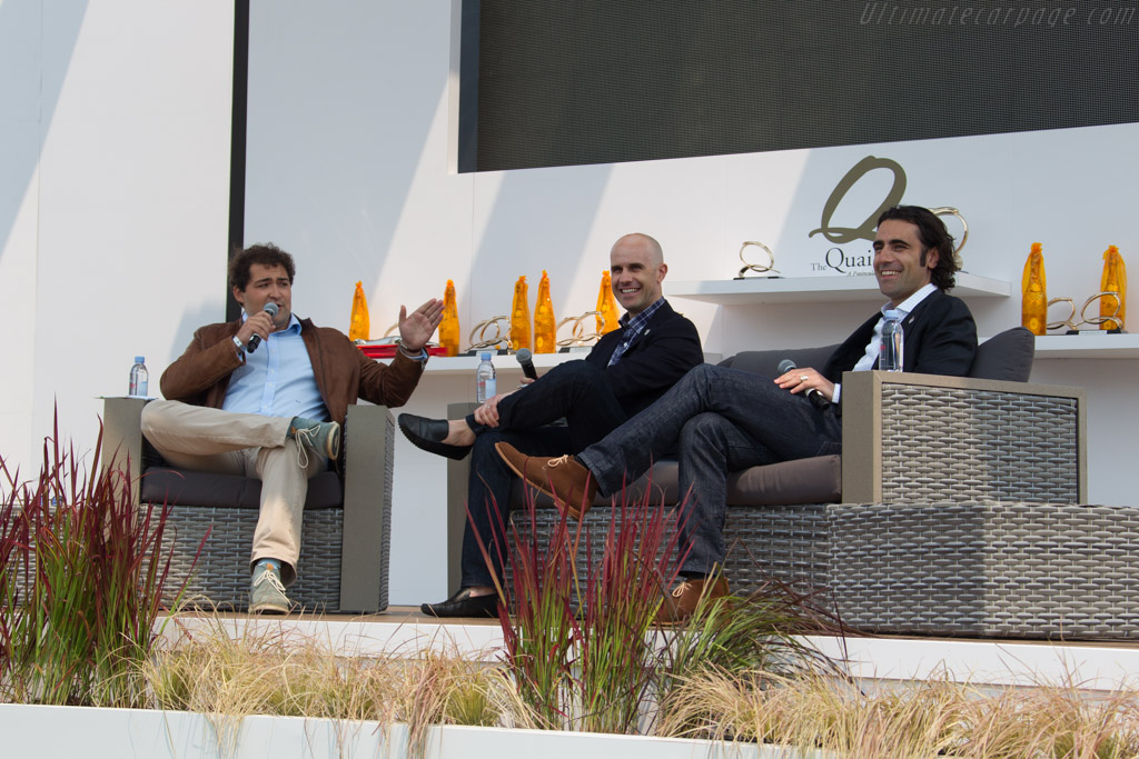 Fireside chat with Marino and Dario Franchitti    - 2016 The Quail, a Motorsports Gathering