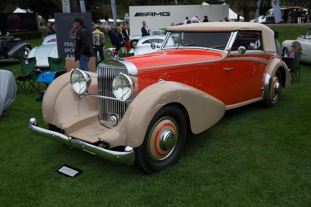 Hispano Suiza J12 Fernandez & Darrin Coupe De Ville  - Entrant: Anne Brockington Lee / Robert M. Lee Collection  - 2016 The Quail, a Motorsports Gathering