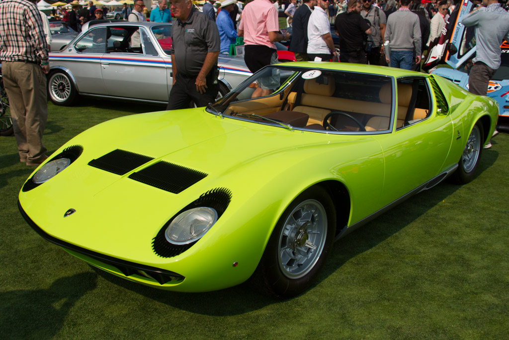 Lamborghini Miura P400 S - Chassis: 3796 - Entrant: Billy Hibbs Jr  - 2016 The Quail, a Motorsports Gathering