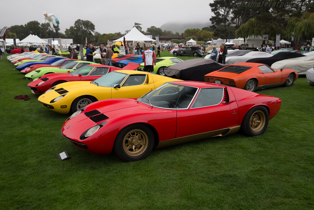 Lamborghini Miura P400 SV  - Entrant: We Are Curated  - 2016 The Quail, a Motorsports Gathering