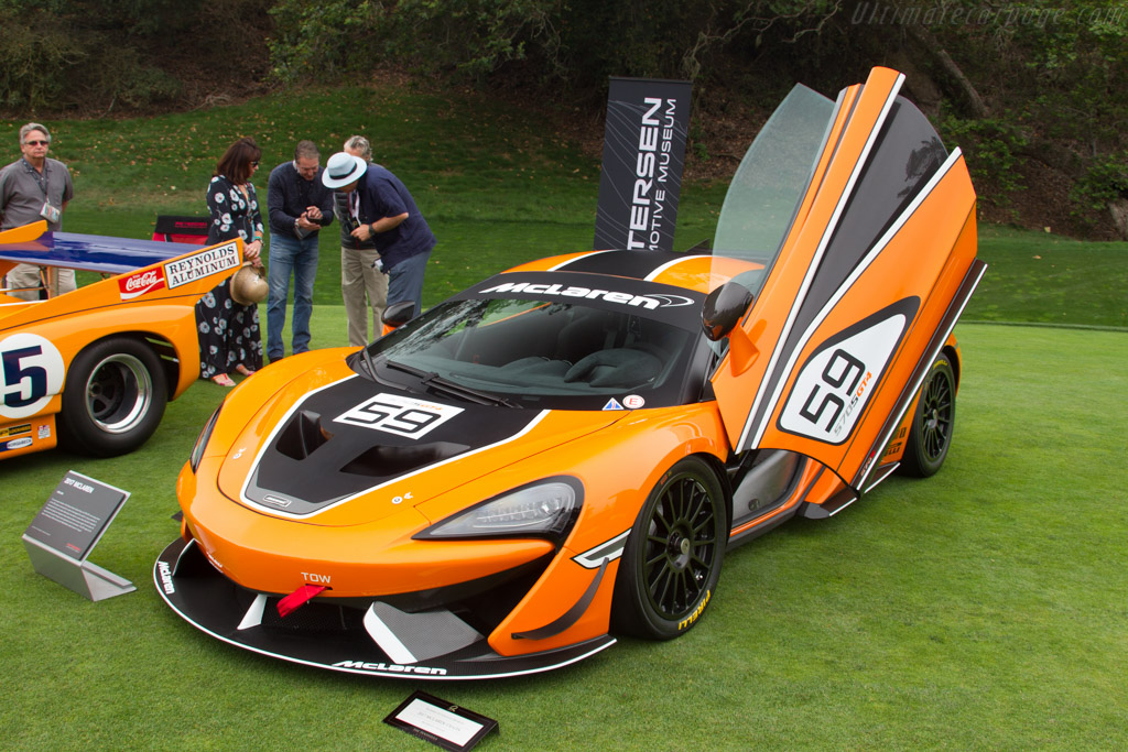 McLaren 570S GT4    - 2016 The Quail, a Motorsports Gathering