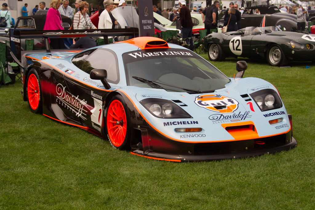 McLaren F1 GTR - Chassis: 28R - Entrant: Lionel Robert  - 2016 The Quail, a Motorsports Gathering