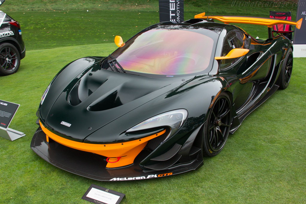 McLaren P1 GTR - Chassis: 100040 - Entrant: Bruce Canepa  - 2016 The Quail, a Motorsports Gathering