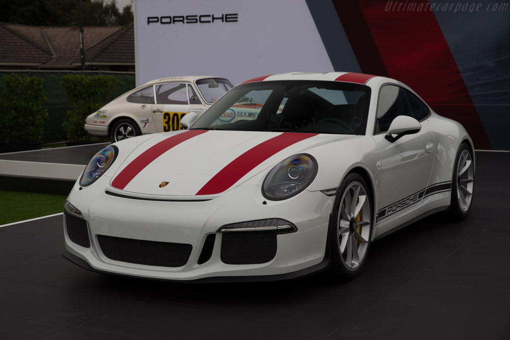 Porsche 911 R    - 2016 The Quail, a Motorsports Gathering