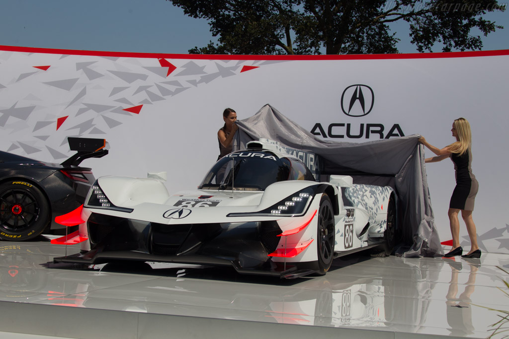 Acura ARX-05    - 2017 The Quail, a Motorsports Gathering