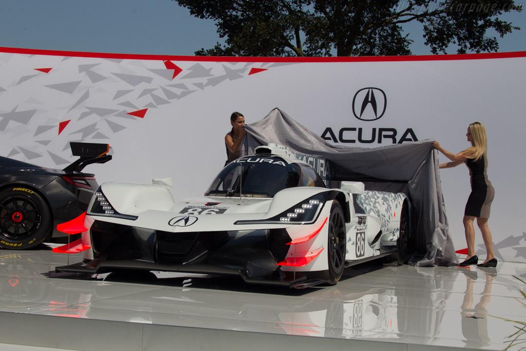Acura ARX-05    - 2017 The Quail, a Motorsports Gathering