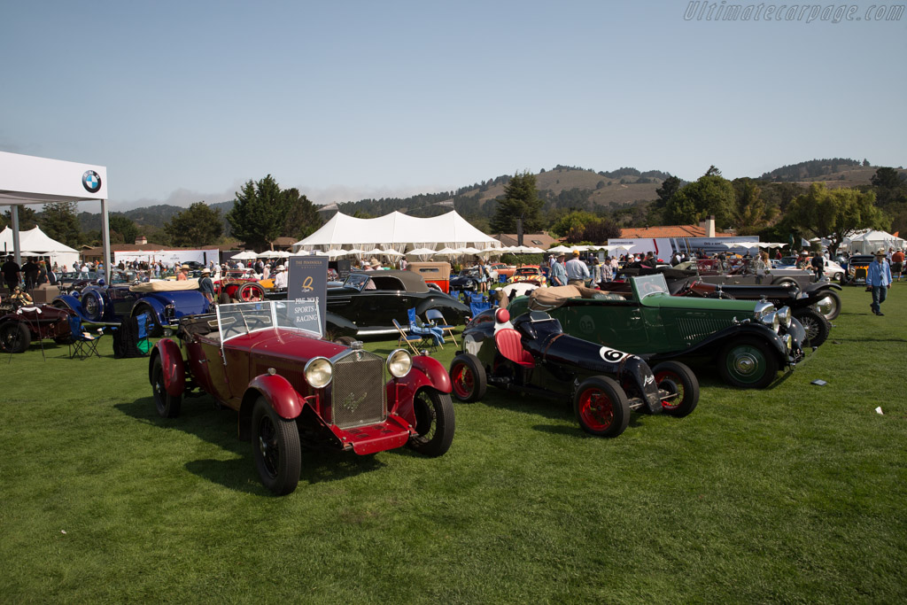 Alfa Romeo 6C 1500 S  - Entrant: ALT Motors LLC  - 2017 The Quail, a Motorsports Gathering