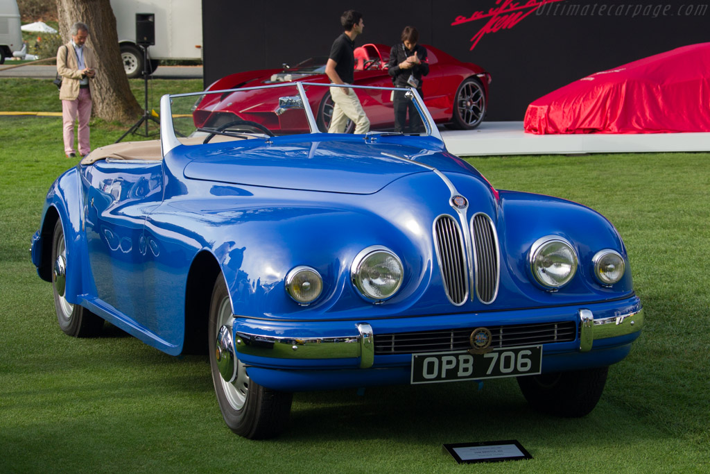 Bristol 402 Convertible  - Entrant: Stanley & Merle Bauer  - 2017 The Quail, a Motorsports Gathering