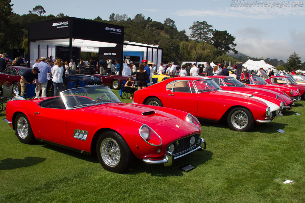 Ferrari 250 GT California Spyder - Chassis: 3195GT - Entrant: Larry Carter  - 2017 The Quail, a Motorsports Gathering