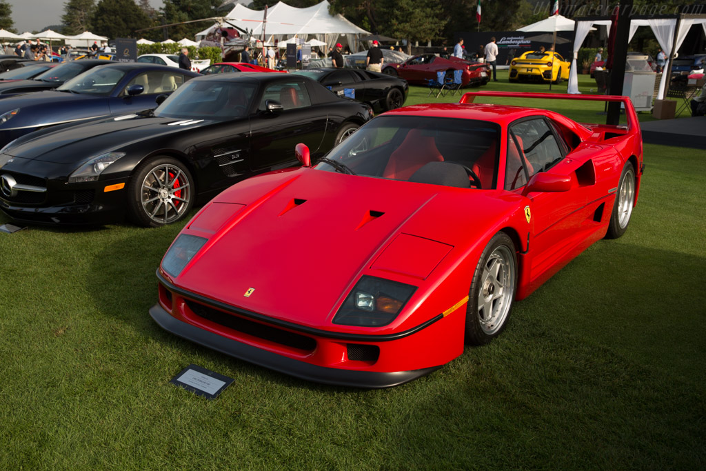 Ferrari F40 - Chassis: 92233 - Entrant: Chloe & Lyndon Lien  - 2017 The Quail, a Motorsports Gathering