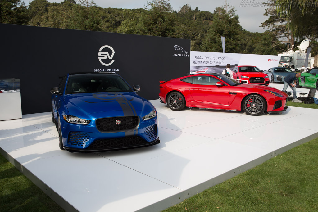 Jaguar XE SVO Project 8    - 2017 The Quail, a Motorsports Gathering