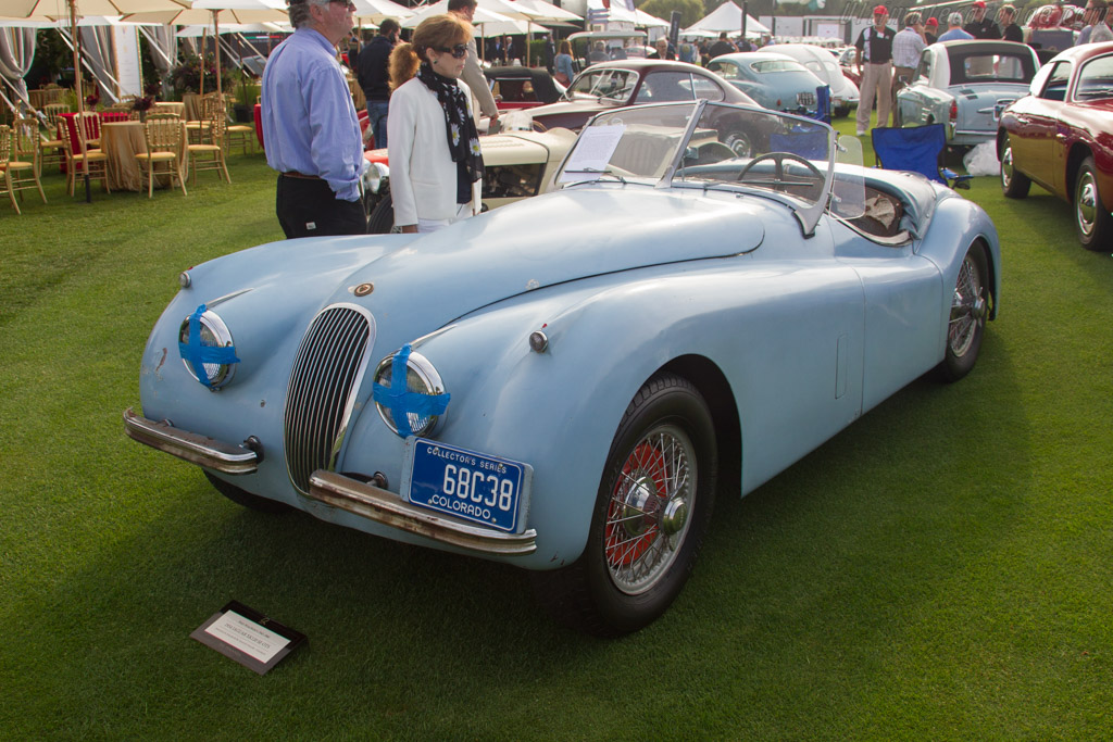 Jaguar XK120 SE Roadster  - Entrant: Jonathan R. Strather / Dr. Susan R. Strather  - 2017 The Quail, a Motorsports Gathering