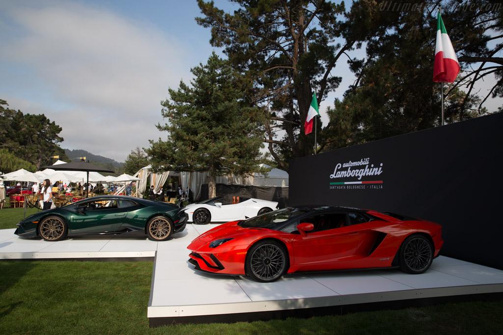 Lamborghini Aventador S    - 2017 The Quail, a Motorsports Gathering