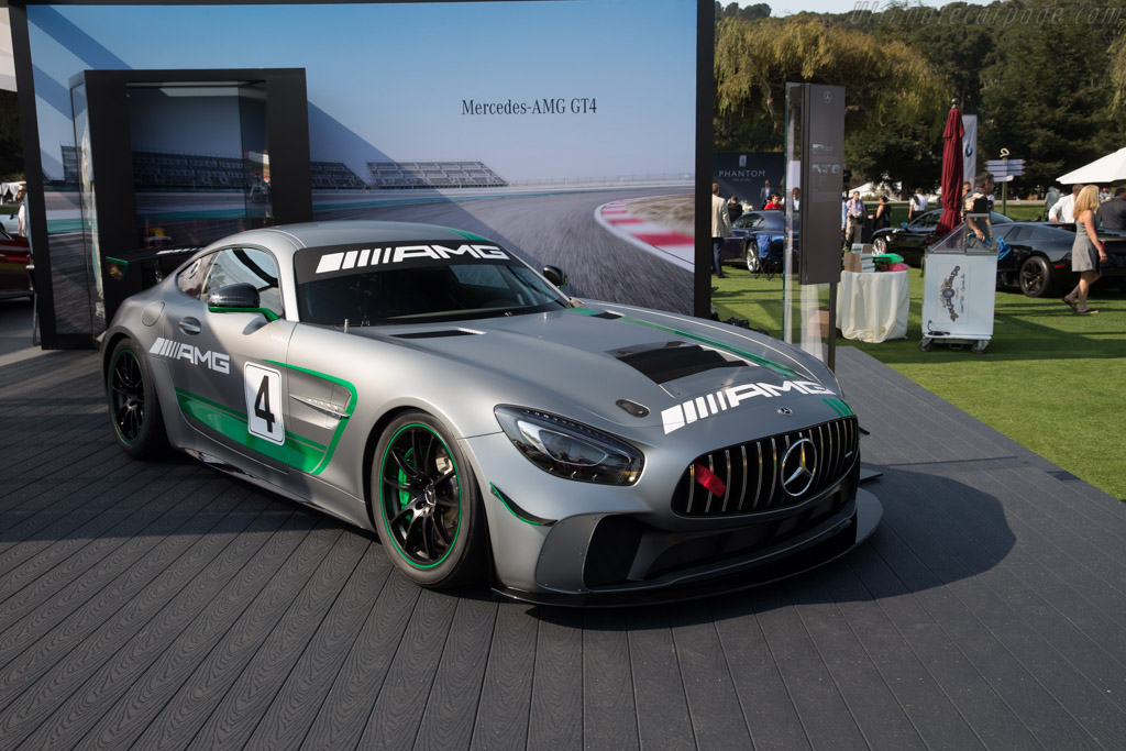 Mercedes-AMG GT4    - 2017 The Quail, a Motorsports Gathering
