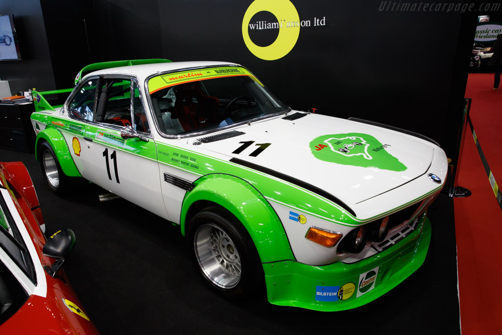 BMW 3.0 CSL Group 2 - Chassis: 001/79 - Entrant: Will I'Anson  - 2019 Retromobile