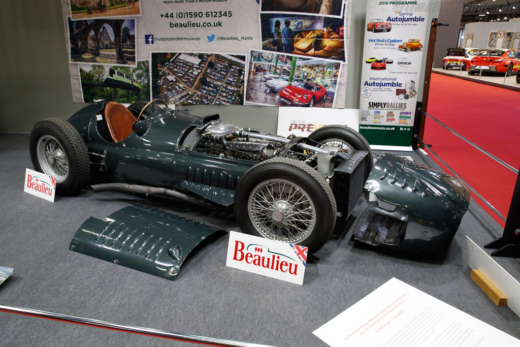 BRM Type 15 - Chassis: Type 15 / 1   - 2019 Retromobile