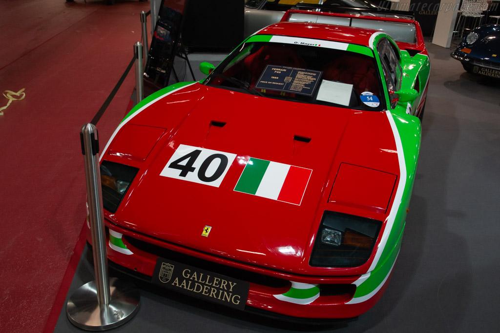 Ferrari F40 - Chassis: 80719 - Entrant: The Gallery - 2019 Retromobile