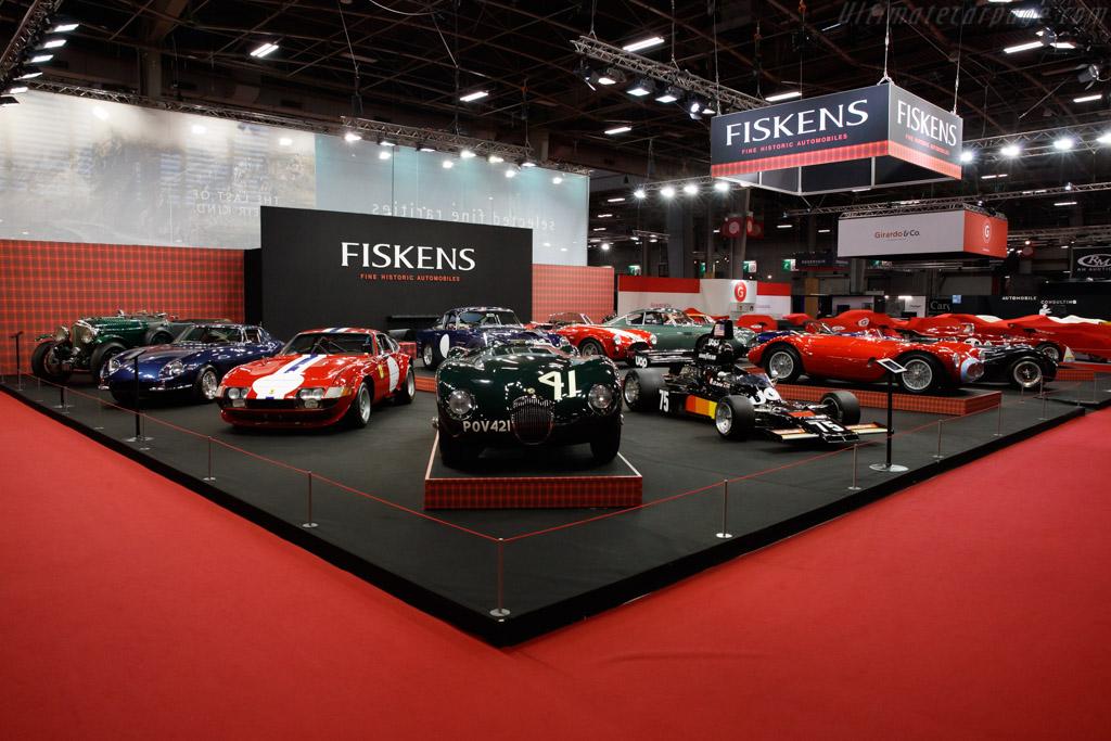 Jaguar C-Type - Chassis: XKC 007 - Entrant: Fiskens - 2019 Retromobile