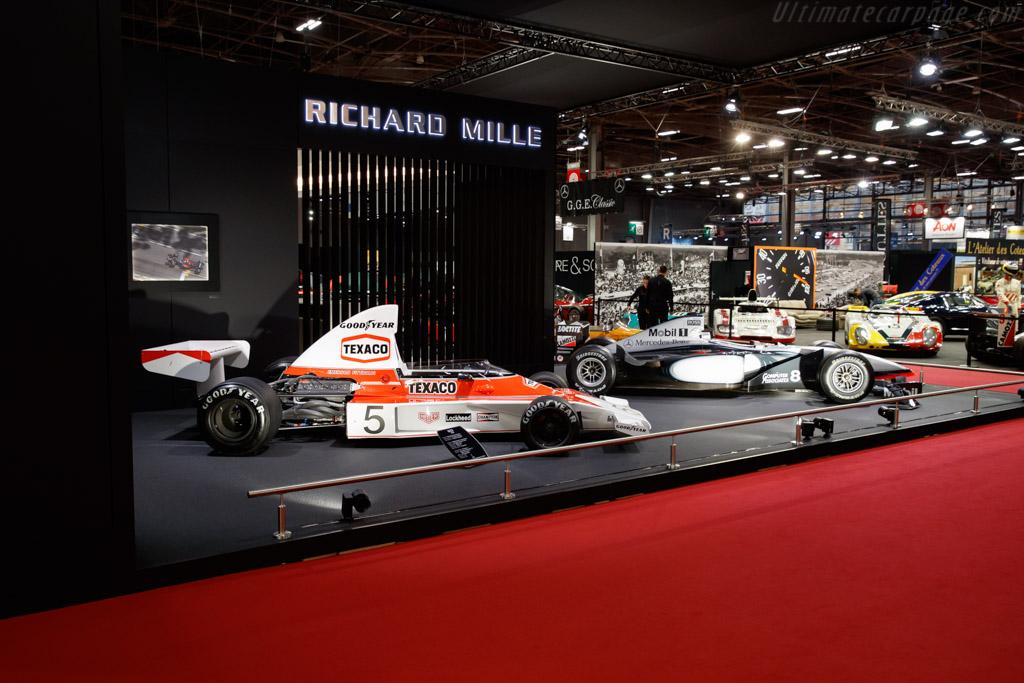 McLaren M23 - Chassis: M23-5 - Entrant: Richard Mille  - 2019 Retromobile