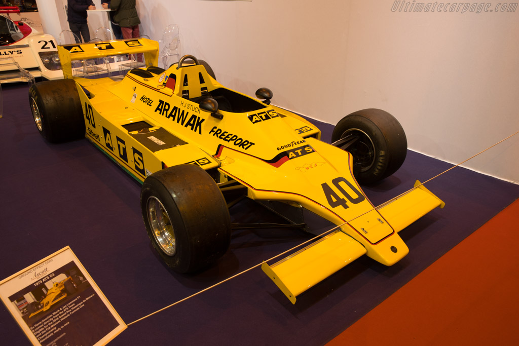 ATS D3 Cosworth - Chassis: D3/01  - 2018 Retromobile