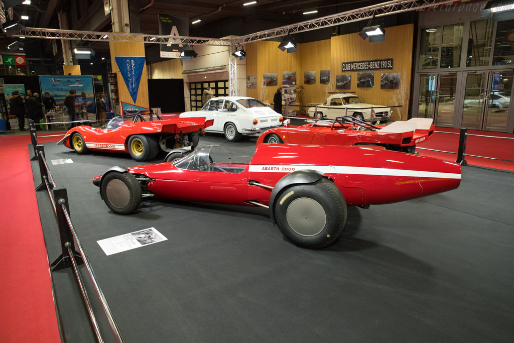 Abarth 2000 Monoposto Record    - 2018 Retromobile