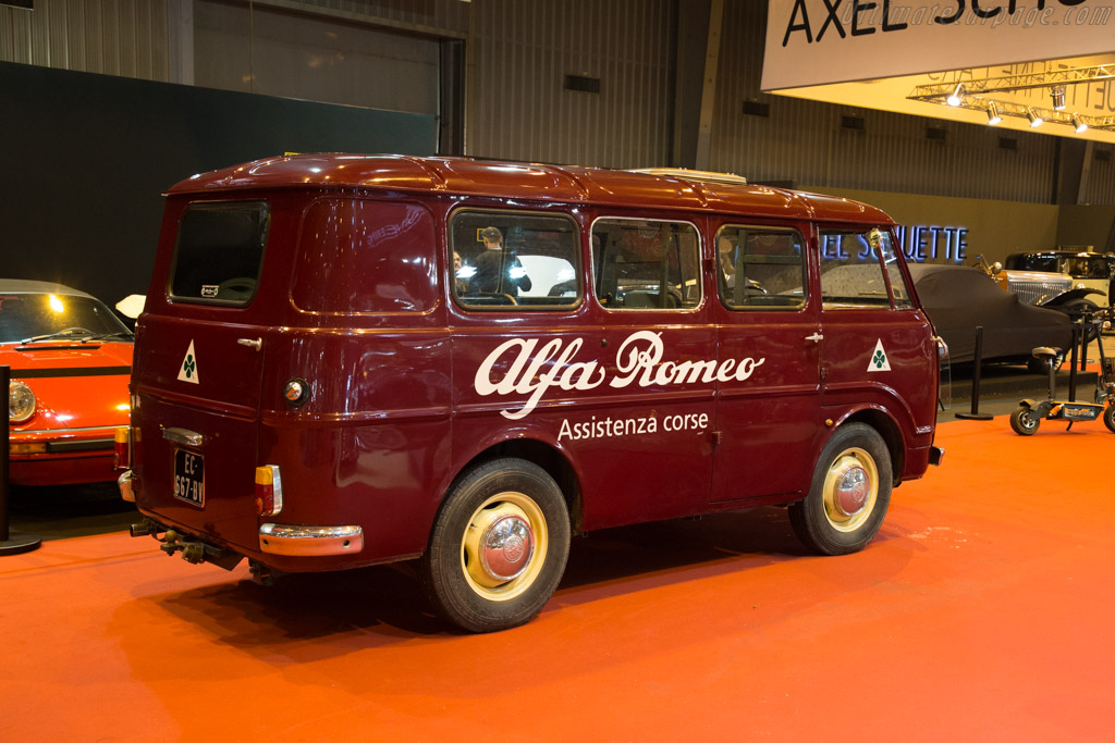 Alfa Romeo Minibus    - 2018 Retromobile