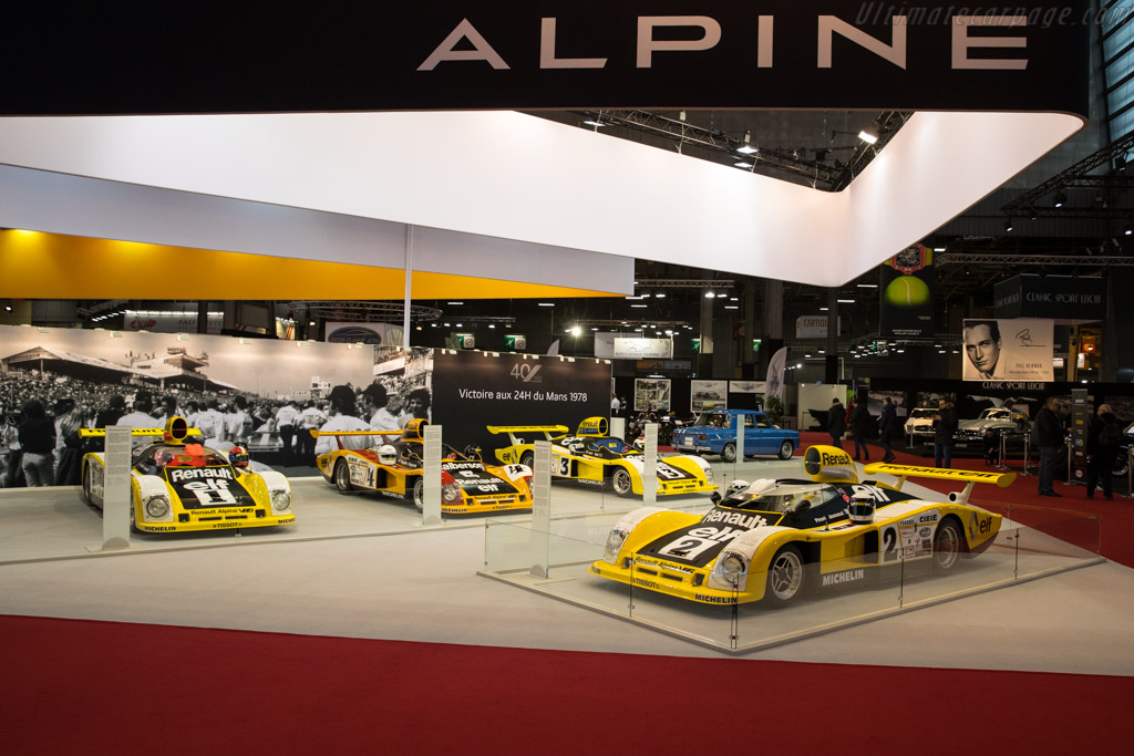 Alpine A442B - Chassis: 442/3   - 2018 Retromobile