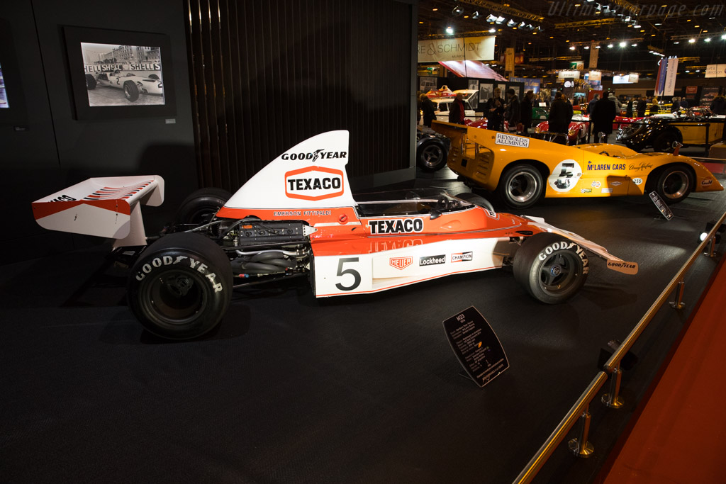 McLaren M23 Cosworth - Chassis: M23-5   - 2018 Retromobile