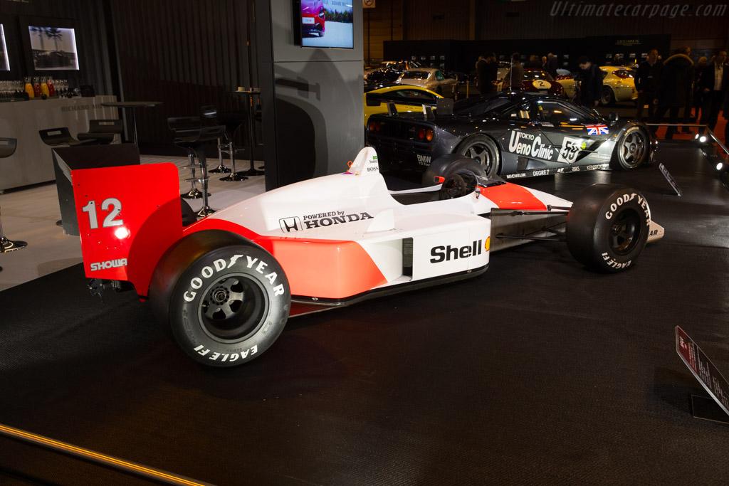 McLaren MP4/4 Honda    - 2018 Retromobile
